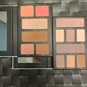 Pur Cosmetics Cheek palette, Eyeshadow palette